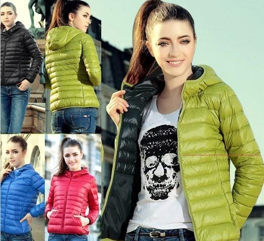 New 2017 Fashion Ladies Down Short Design Coat Winter Cotton-padded Jacket Women Slim Solid Zipper Outerwear DF-081