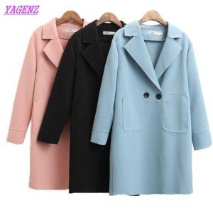 f3eaf461a5d Plus size Windbreaker coat Women Spring Autumn New Loose Long sleeve Trench  Coat Elegant Women High quality Wild Overcoat B679. Women s Coats
