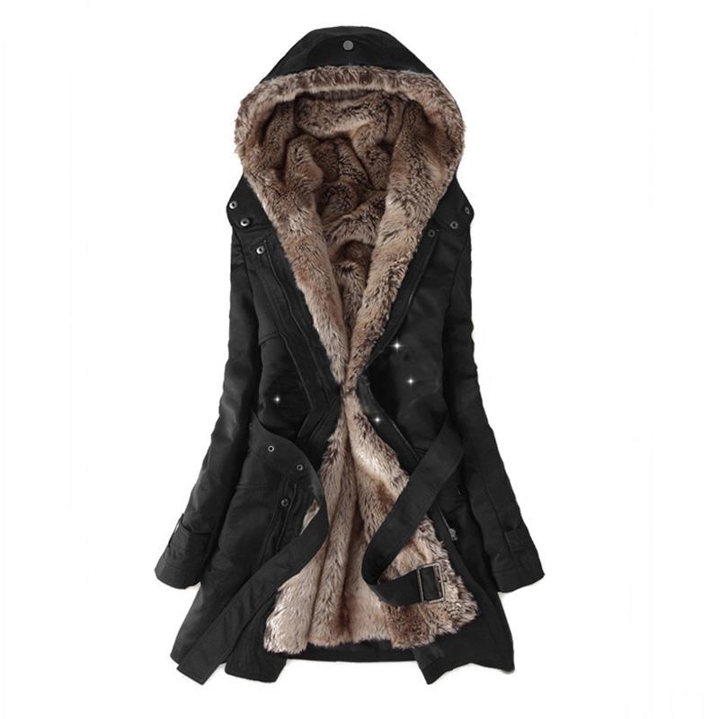 Women Winter Jacket 2018, Warm Long Casual Parkas Jacket